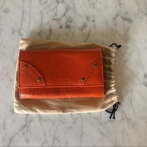 Burberry Orange Wallet